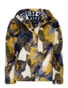Chaq Elania Outerwear Faux Fur Grün DESIGUAL