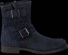 Blaue Clic! Biker Boots 8383