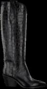 Schwarze Notre-V Hohe Stiefel Ah68