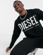 Diesel – K-Logos – Pullover-Schwarz