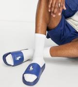 Polo Ralph Lauren x ASOS – Exclusive Collab – Slider in Marineblau mit...