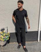 Polo Ralph Lauren – Eldridge – Enge Jeans in Schwarz